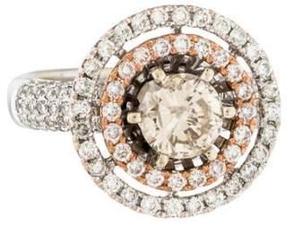 Ring 18K 1.04ct Diamond Cocktail
