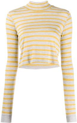 Alexander Wang stripe knitted top