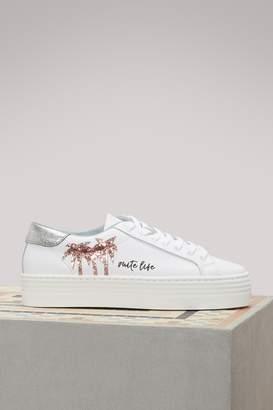 Chiara Ferragni Chiara Suite leather sneakers