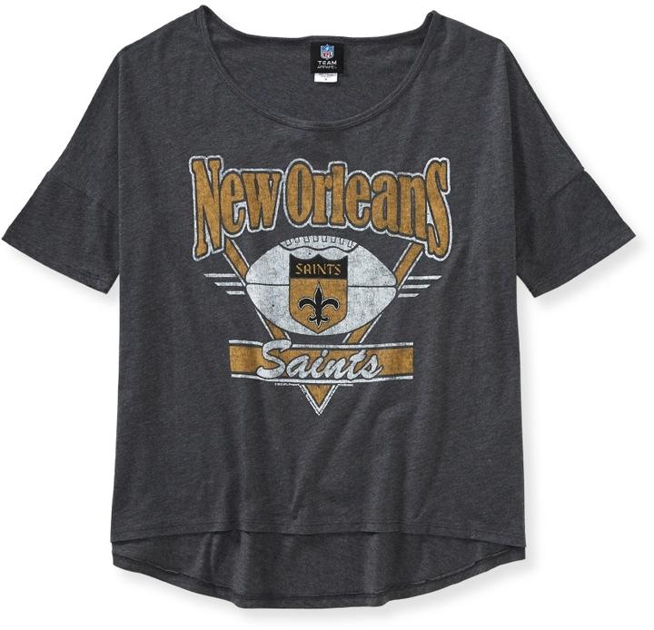 Aeropostale New Orleans Saints® Boxy Graphic T