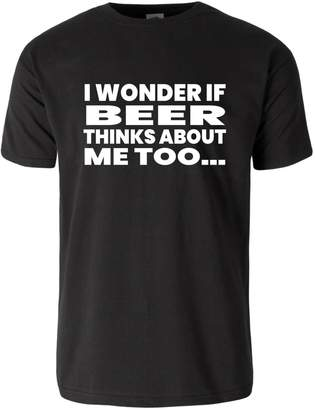 Me Too Podalyzer Unisex - I Wonder If Beer Thinks About Funny T-shirt
