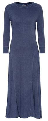 Polo Ralph Lauren Cotton-blend sweater dress