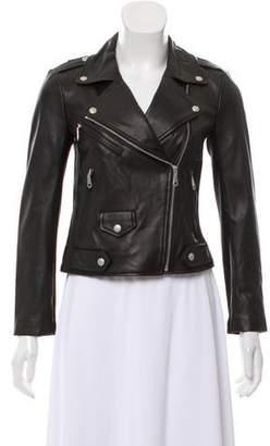 Rebecca Minkoff Leather Neoprene Moto Jacket w/ Tags