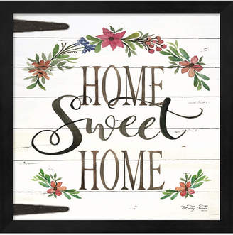 Metaverse Home Sweet Home By Cindy Jacobs Framed Art
