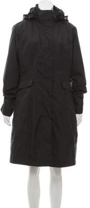 The North Face Long Zip-Up Coat
