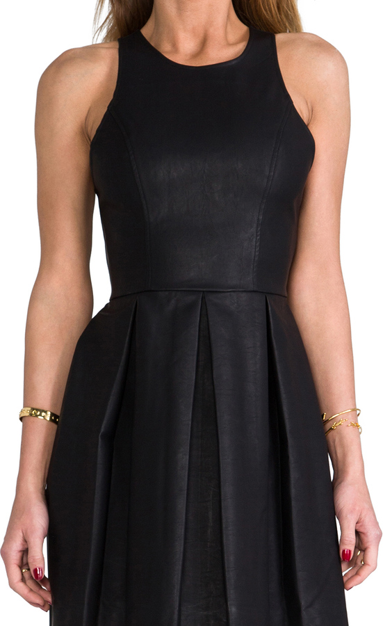Dolce Vita Alda Faux Leather Dress