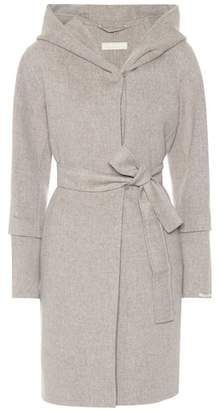 Max Mara S BB hooded wool coat