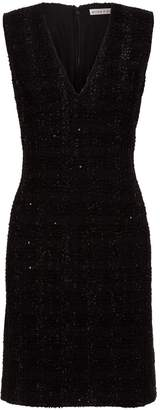 Alice + Olivia Adelaide Tweed Fil Coupe Dress