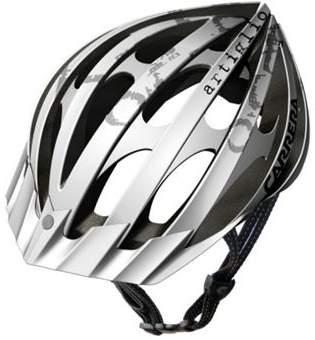 Carrera E420 Artiglio 2 Mtb Helmet White Silver Matt Large Xlarge 58-61Cm