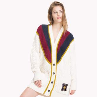 Tommy Hilfiger Tommy Icons Metallic Stripe Cardigan