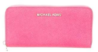 Michael Kors Leather Continental Wallet