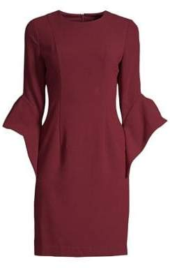 Black Halo Lorie Bell Sleeve Dress