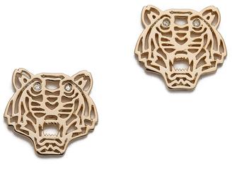 KENZO Mini Tiger Earrings $142 thestylecure.com