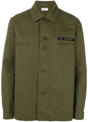 Saint Laurent military shirt