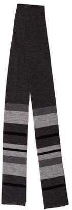 Vince Striped Wool Scarf