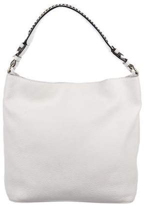 Diane von Furstenberg Grained Leather Shoulder Bag