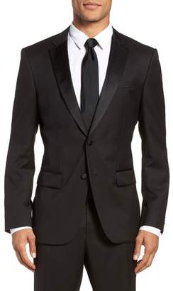 BOSS Hence CYL Trim Fit Wool Dinner Jacket