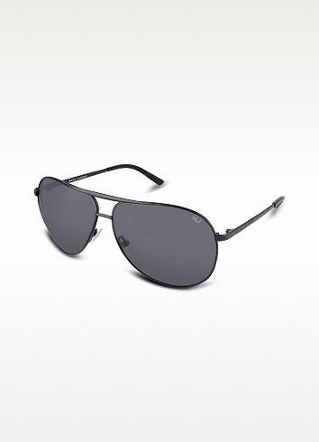 Marc Jacobs Double Bridge Metal Aviator Sunglasses