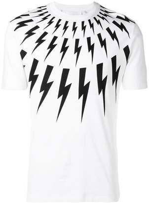 Neil Barrett thunderbolt T-shirt