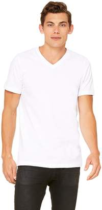 B.ella + Canvas Unisex Jersey Short-Sleeve V-Neck T-Shirt, S