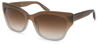 Barton Perreira Aloha Asian Fit Cat-Eye Sunglasses