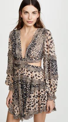 Zimmermann Allia Cutout Short Dress