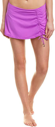 Anne Cole Side Slit Swim Skirt