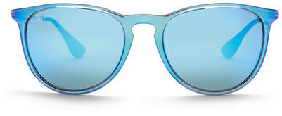 Ray-Ban Unisex Youngster Blue Mirror Sunglasses