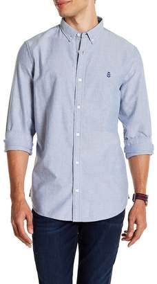 WALLIN & BROS Oxford Long Sleeve Slim Fit Shirt