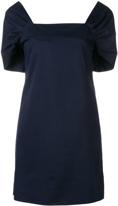 Theory square neck dress