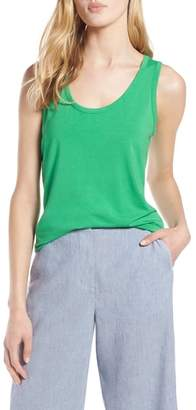 Halogen Scoop Neck Tank Top