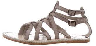 Christian Louboutin Multistrap Leather Sandals