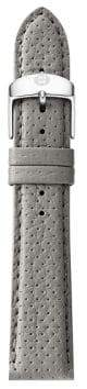 Michele Urban Perforated Leather Strap/18MM