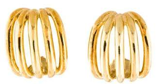 Cartier Vintage Cage Clip-On Earrings