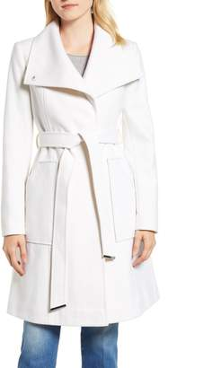 Halogen Belted Wool Blend Coat