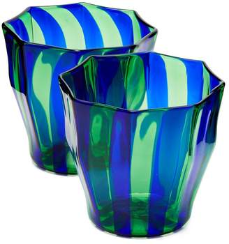 Murano CAMPBELL-REY Rosanna striped glasses