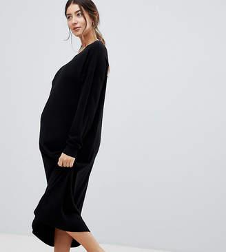 Asos DESIGN Maternity jumper dress in fine knit