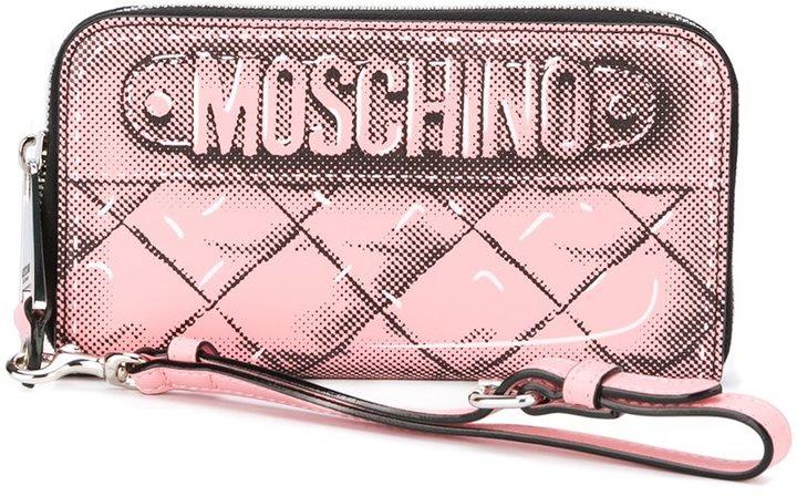 MoschinoMoschino trompe-l'oeil wallet