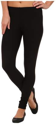 Plush Fleece-Lined Matte Spandex Legging Women's Clothing