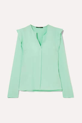 Derek Lam Silk-crepe Blouse - Green