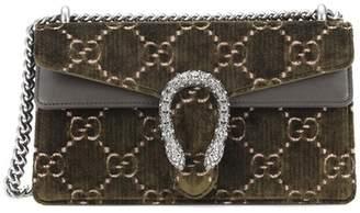 Gucci Dionysus GG Small velvet shoulder bag