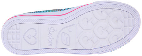 Skechers Shuffles - Triple Up Lights 10249L (Little Kid)