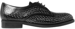 Alaia Laser-cut Leather Brogues