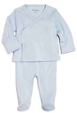 Kissy Kissy Boys' Pointelle Take Me Home Shirt & Footie Pants Set - Baby