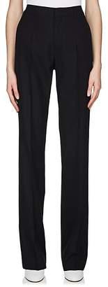 Maison Margiela Women's Herringbone-Striped Virgin Wool Trousers