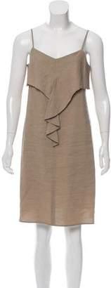Theory Linen Knee-Length Dress