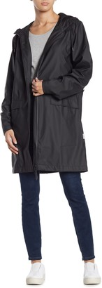 Rains Hooded Trench Coat