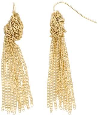 Lf By Lisa Freede LF by Lisa Freede Chain Knot Nickel Free Earrings