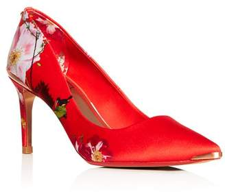 Ted Baker Women's Court Floral Pointed-Toe Pumps