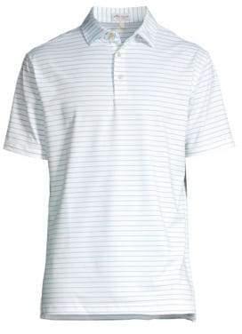 Peter Millar Halifax Striped Jersey Polo Tee
